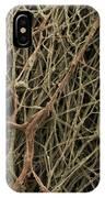 Sem Of Mycelium On Mushrooms IPhone Case