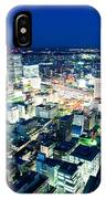Sendai Train Station By Night IPhone Case