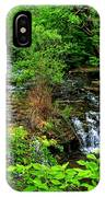 Serenity With Frame IPhone Case