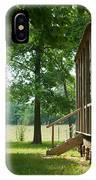 Settlers Cabin Arkansas 4 IPhone Case