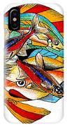 Seven Fish IPhone Case