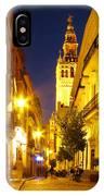 Sevilla At Night IPhone Case