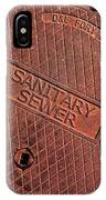 Sewer Cover IPhone Case