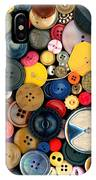 Sewing - Buttons - Bunch Of Buttons IPhone Case