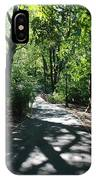 Shaded Paths In Central Park IPhone Case