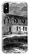 Shaker Church, 1875 IPhone Case