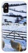 Sheep, Ireland Sheep And A Farm During IPhone Case