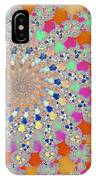 Shelly Spiral IPhone Case