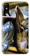 Shoe - Vintage Ladies Boots IPhone Case