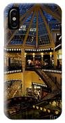 Shopping Mall In The Evening IPhone Case