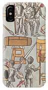 Siege Of Tenochtitlan, 1521 IPhone Case