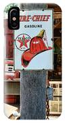 Sign - Fire Chief Gasoline IPhone Case