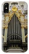 Silbermann Organ IPhone Case