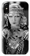 Silent Film Still: Costume IPhone Case