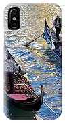 Silently Drifting Gondolas IPhone Case