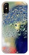 Silhouette In The Rain IPhone Case