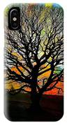 Silhouette In Winter IPhone Case