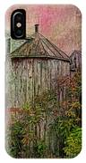 Silo In Overgrowth IPhone Case