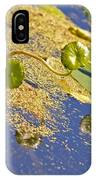 Silver Dollar Lilies IPhone Case
