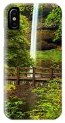 Silver Falls Bridge IPhone Case