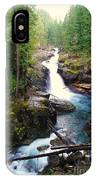 Silver Falls Full View  IPhone Case