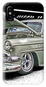Silver Street Rod Hdr IPhone Case