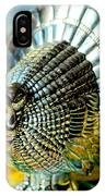 Silver Turkey Right IPhone Case