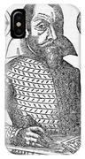 Simon Marius, German Astronomer IPhone Case