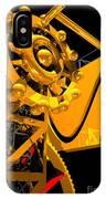 Sine Wave Machine Portrait 6 IPhone Case