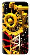 Sine Wave Machine Portrait 7 IPhone Case