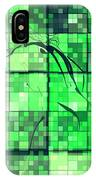 Sinful Geometric Green IPhone Case