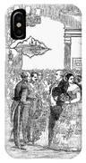 Singapore: Ball, 1854 IPhone Case