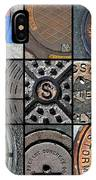 Sinuous Sewers IPhone Case