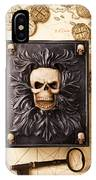 Skull Box With Skeleton Key IPhone Case