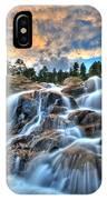 Sky Blue Falls IPhone Case