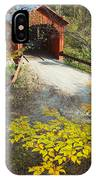 Slaughter House Bridge And Fall Colors IPhone Case