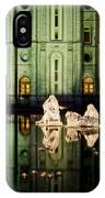 Slc Temple Nativity IPhone Case