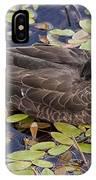Sleeping Duck IPhone Case