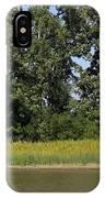 Small Barn Big Trees IPhone Case
