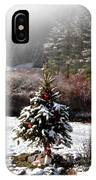 Small Christmas Tree Filtered IPhone Case