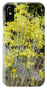 Small Yellow Onion (allium Flavum) IPhone Case