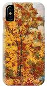 Smoke Tree In The Karst IPhone Case