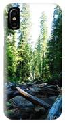 Snag On Iron Creek IPhone Case