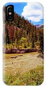 Snake River And Kayaker IPhone Case