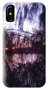 Sneaking Behind The Trees IPhone Case