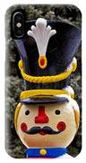 Snow Coverd Toy Soldier IPhone Case