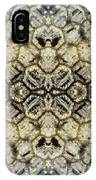 Snow Fence - Abstract IPhone Case