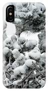 Snow On The Pines IPhone Case