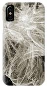 Snow Storm Abstract IPhone Case