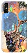 Snowball Plant Abstract 3 IPhone Case